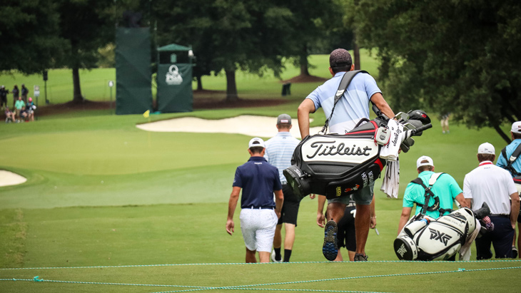 A final day of preparations had many Titleist...