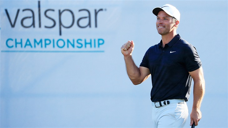 Casey Goes Back-to-Back at Valspar, Leads 5-Win Week For Titleist Players