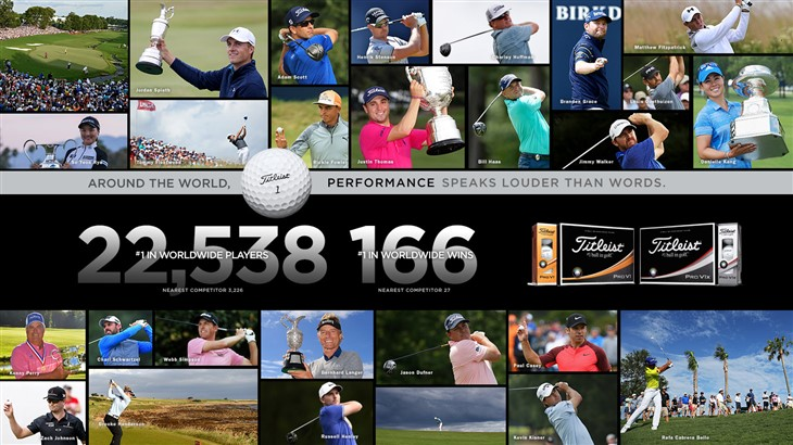 Titleist Year-End Report: Performance Speaks Louder Than Words